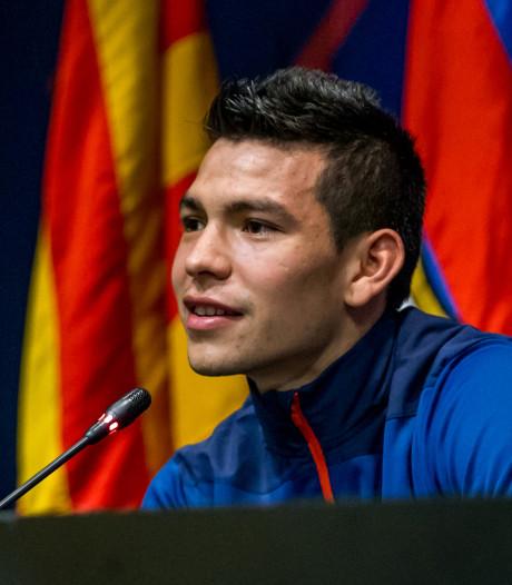 Lozano: Het is een droom om ooit voor zo'n club te spelen