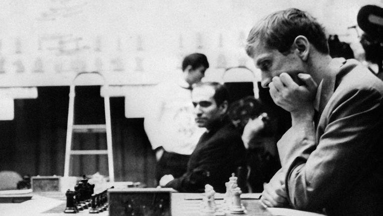 Bobby Fischer. Beeld afp