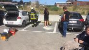 Brand breekt uit in geparkeerde wagen