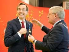 Tweede man UMC Utrecht ridder bij afscheid