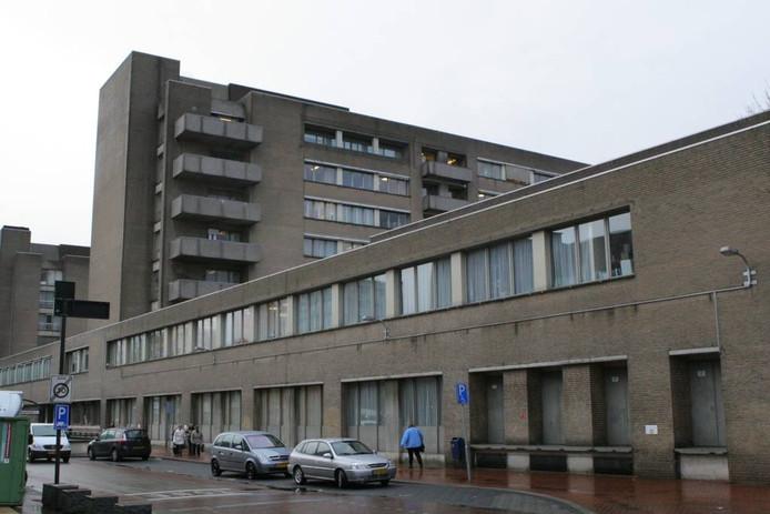Het oude stadsziekenhuis GZG. Het college heeft hele nieuwe plannen gemaakt voor het gebied.