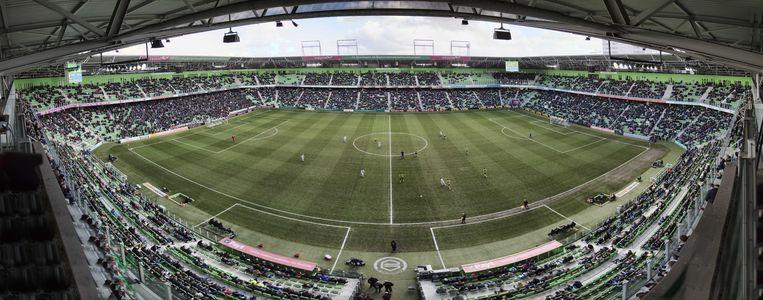 De Euroborg, het stadion van FC Groningen. Beeld null