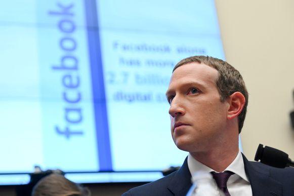 Facebookbaas Mark Zuckerberg.