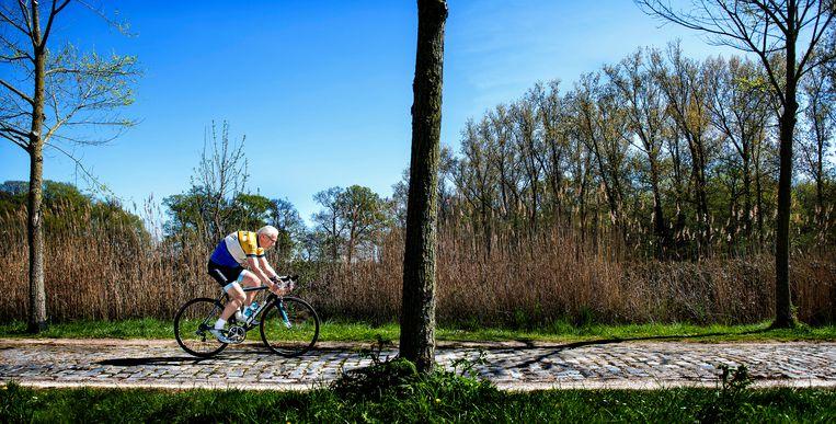 Jan Janssen, bijna 80 jaar, 53 jaar ( 1967 ) nadat hij Parijs-Roubaix heeft gewonnen. Beeld Klaas Jan van der Weij