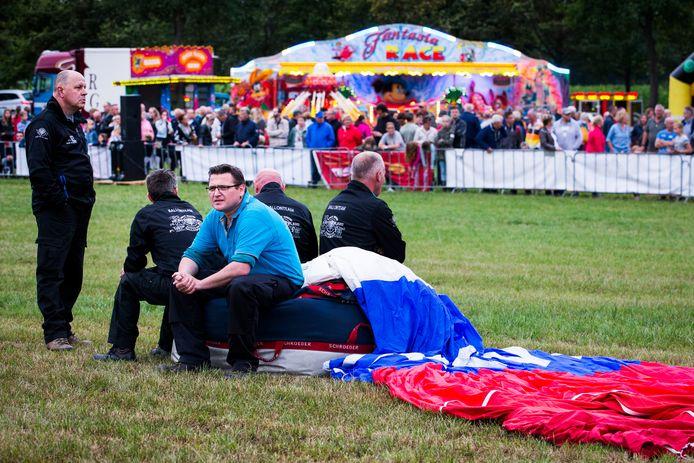 Ballonvaarders wachten op de beslissing over het doorgaan van Höfteballooning