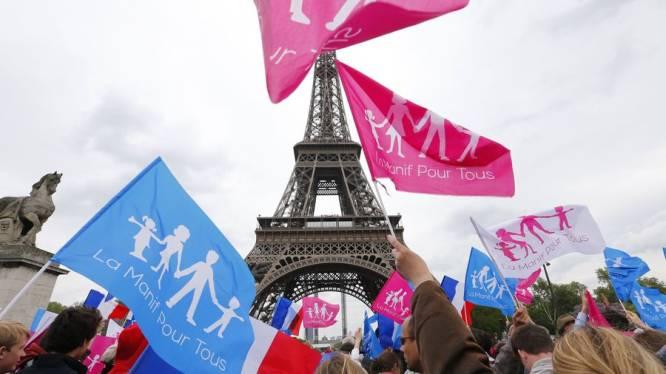 Opnieuw betoging tegen homohuwelijk in Parijs