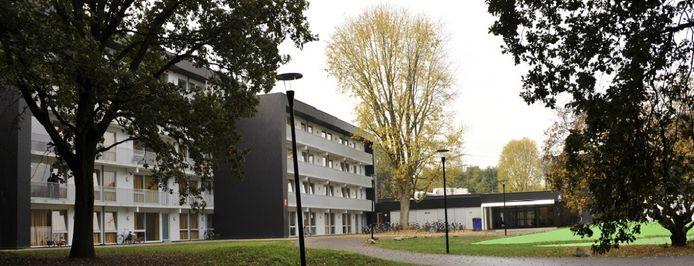Het asielzoekerscentrum in Zutphen.