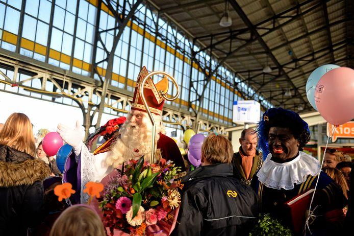 Sinterklaas komt ook dit jaar per trein naar Hengelo.