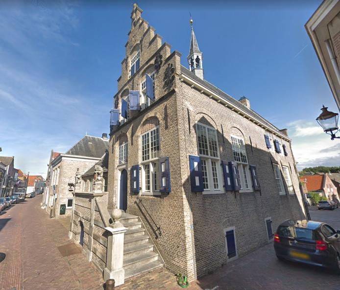 Het voormalige raadhuis in Haastrecht.