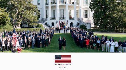 """Trump veroorzaakt ophef met foto van 9/11: """"Waarom lieg je over alles?"""""""