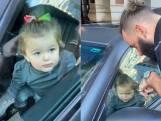 """""""Ze gaat de auto starten"""": kleuter zit opgesloten in Maserati van haar papa"""