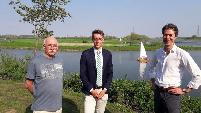 De Wageningse watersportverenigingen hopen op veilige waterportmogelijkheden in de uiterwaarden