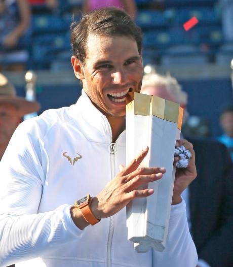 Nadal gunt zichzelf rust in aanloop naar US Open