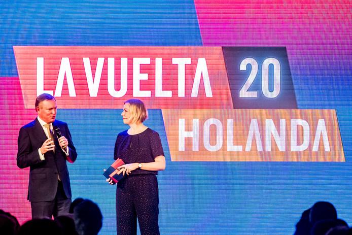 De presentatie van de Vuelta 2020 in de Grote Kerk in Breda.