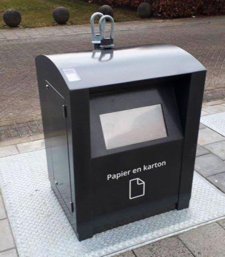 Proef: grotere papiercontainers in Zwolle voor online winkelen