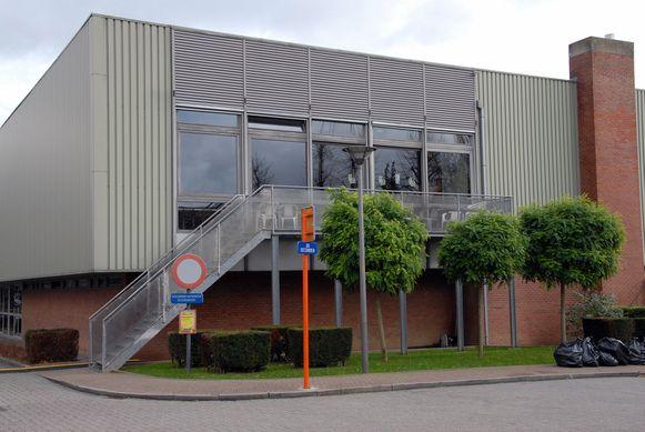 De sporthal van Sint-Stevens-Woluwe.