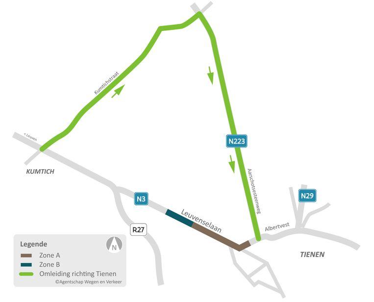 De onderhoudswerken van de Leuvenselaan en de Withuisstraat gaan maandag van start.