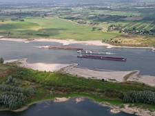 Waal bij Nijmegen kan vandaag historisch laag waterpeil bereiken