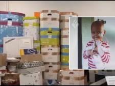 Zieke Eva krijgt duizenden kaartjes voor derde verjaardag