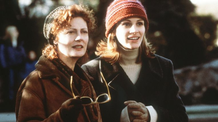 Susan Sarandon en Julia Roberts in Stepmom van Chris Colombus. Beeld null