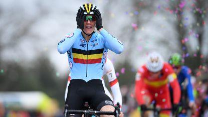 KOERS KORT. Thibau Nys wint eerste Wereldbekercross - D'hoore en Kopecky heersen in ploegkoers