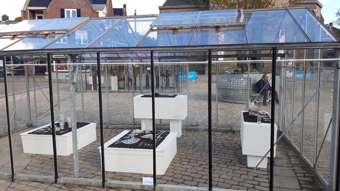 Werken van de Roemeense kunstenares Ioana Stelea op Glasrijk Tubbergen 2019.