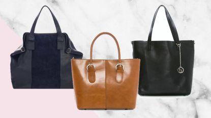 De it-bag waar je ook je spullen in kwijt kan: dit zijn de leukste shoppers