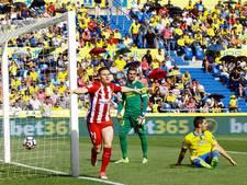 Atlético wint met speels gemak op Gran Canaria
