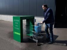 Weer een 'corona-uitvinding' van Deurnese bodem: een wasstraat voor winkelwagens