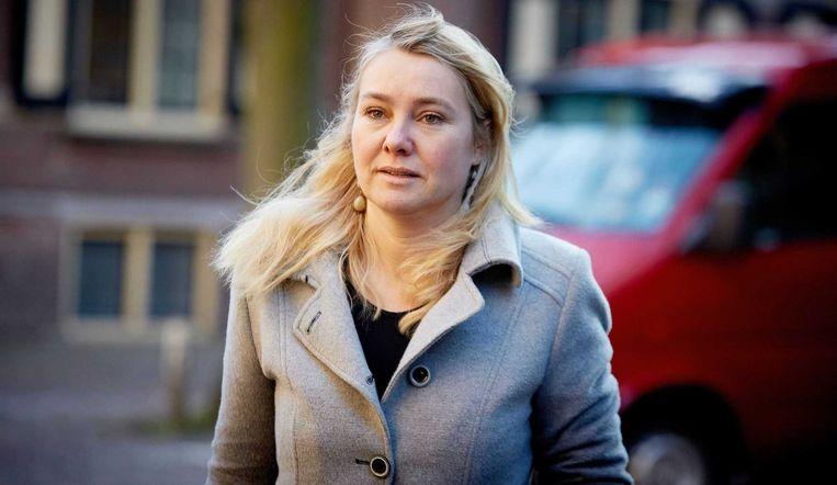 Minister Melanie Schultz van Hagen van Instrastructuur en Milieu. Beeld anp