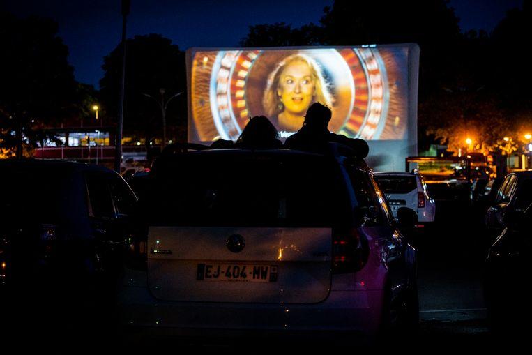 Illustratiebeeld drive-in cinema