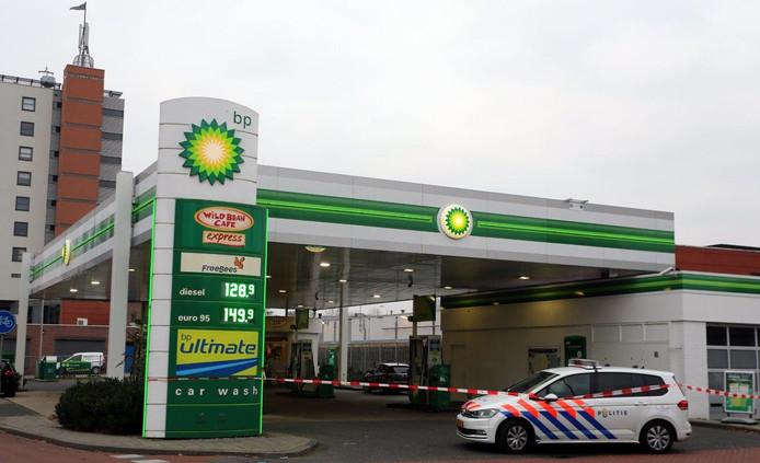 Overval BP in Den Bosch.