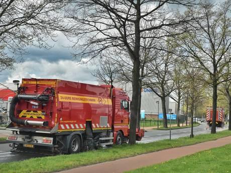 Gemeente Oisterwijk waarschuwt voor oliespoor op bedrijventerrein