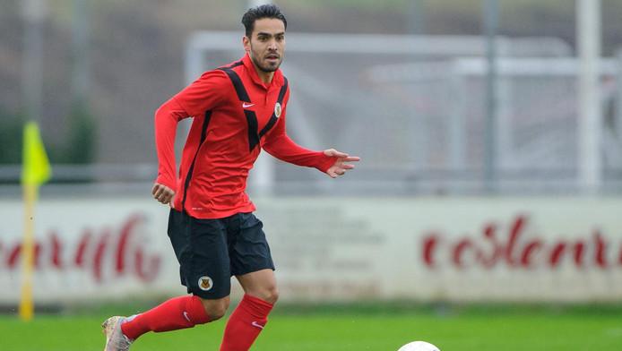 Milan Hoek maakte zaterdag één van de twee AFC-doelpunten tegen IJsselmeervogels.