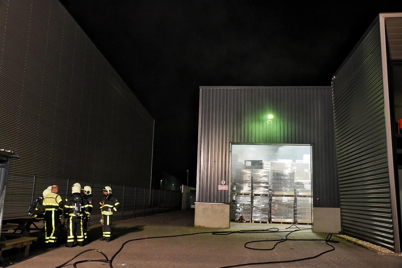 Opnieuw brand bij aanmaakblokjesfabriek Fire-Up in Oisterwijk.