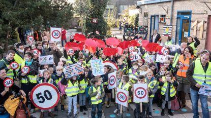 Comité Veilig Leupegem voert samen met KBO-school actie voor verkeersveiliger en leefbaarder dorp