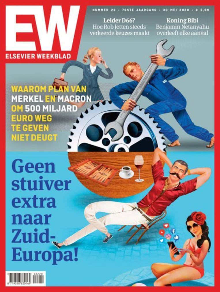 De Elseviercover. Beeld EW