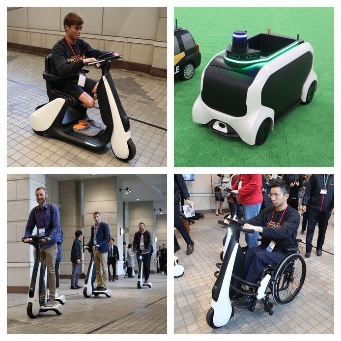 Van rolstoelrobots tot zelfsturende hulpkarretjes: de Toyota's van de toekomst