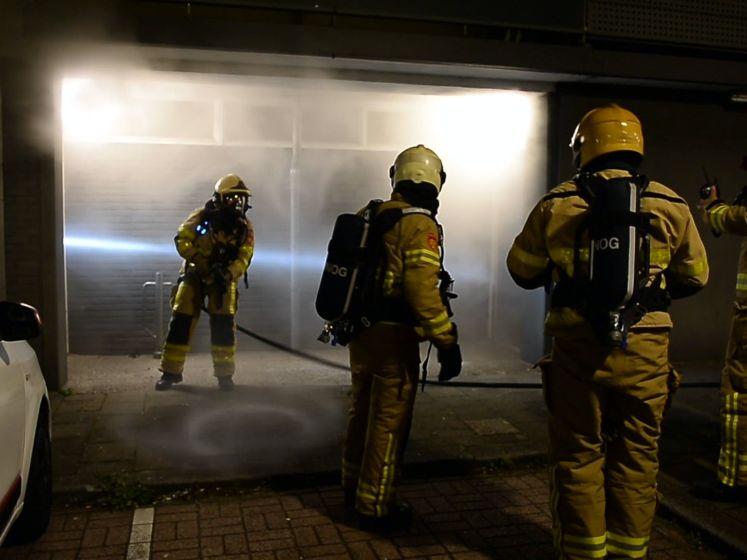 Opnieuw brand in kelderbox van flat in Apeldoorn