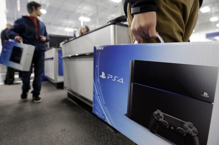 De PlayStation 4.