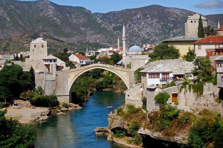 Mostar in Bosnië en Herzegovina is zeker een bezoekje waard