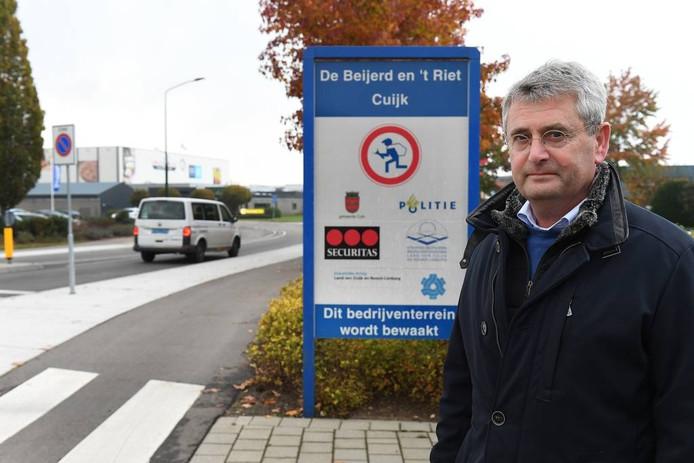 Ted Langen, voorzitter van bedrijventerreinvereniging De Beijerd en 't Riet. foto Ed van Alem