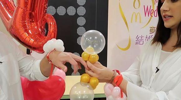 De fameuze 'trouwringen', made by McDonald's.