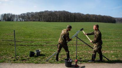 2% Luxemburgs leger naar Belgische grens... om hek te bouwen