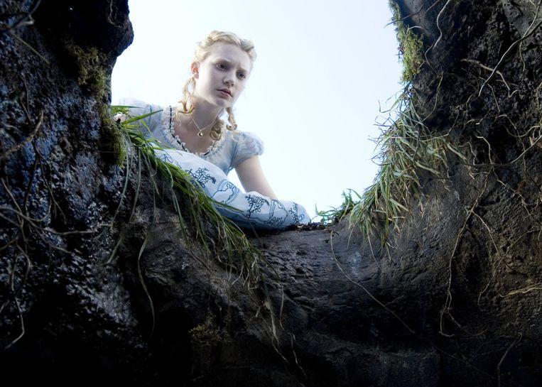 In Alice in Wonderland (2010). Beeld null