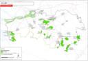 De Natura 2000-gebieden in Brabant