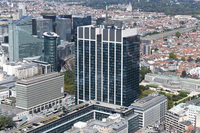 La tour des finances, à Bruxelles