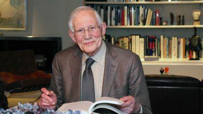 Voormalig politicus Lambert 'Bertie' Croux overleden op 93-jarige leeftijd