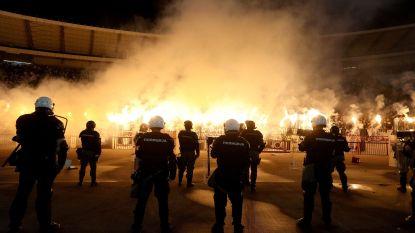 Trieste taferelen: derby van Belgrado ontaardt in massale knokpartijen, gezinnen rennen voor hun leven