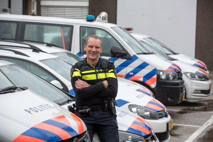 Erik Bomhof, chef van politieteam De Waarden.